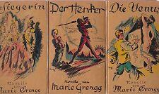 Marie Grengg: Novellen (5 Bände) illlustriert    EA 1937