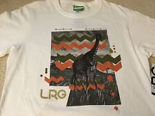 L-R-G LIFTED RESEARCH GROUP OVERSEER TEE SHIRT WHITE MEDIUM M supreme