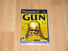 GUN DE ACTIVISION - NEVERSOFT PARA LA SONY PLAY STATION 2 PS2 NUEVO PRECINTADO