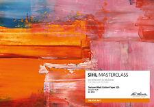 """Fotopapier SIHL MASTERCLASS Textured Matt Cotton Paper 320 g/m² 17"""" Rolle 4853"""
