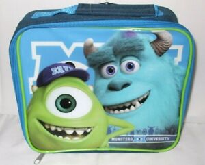 Kids Official Disney Monsters Inc. Character School Lunch Bag