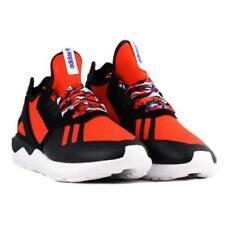 Men's Adidas Tubular Runner Running Shoes Red / Black / White Sz 10.5 B25952