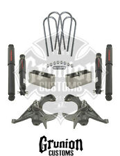 Belltech Chevy S10 Xtreme 99-03 Ext Cab 2/2 Lowering Kit w/Nitro Drop II Shocks