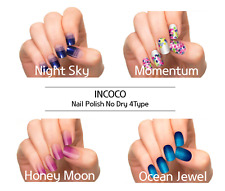 <INCOCO> No Dry Real Nail Polish Applique 4Type -1Pack(16ea or 12ea)+Free Gift