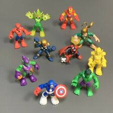 10Pcs Playskool Green Goblin Iron Marvel Super Hero Adventures Squad Figure Toys