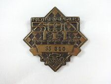 1993 Indianapolis500 SS810 Bronze Pit Badge E. Fittipaldi Marlboro Team Penske