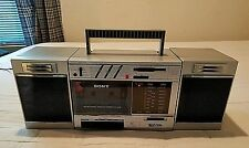 """Vintage Sony """"Transound"""" FM/AM Stereo Cassette Recorder Boombox # CFS-3000."""