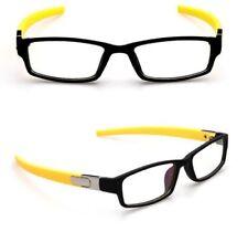 Sport Computer Plain Glasses Eyeglass Frame Optical Eyewear Clear lens