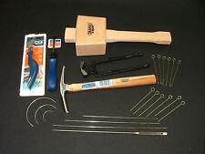 Kit de herramientas de tapicería 18-Draper Tachuela Grapa Mazo Tenazas agujas de martillo
