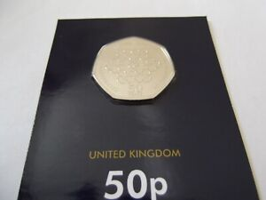 2019 Girl Guides 50p Coin Brilliant Uncirculated BUNC BU Sealed New. Re-issue