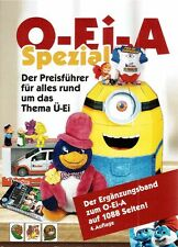 O-Ei-A catalogus kindersurprises speciaal 2016 Kinder Surprise Eggs Sorpresa