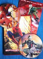 SPIDER-MAN (Tobey Maguire, Kirsten Dunst, Willem Dafoe. MARVEL). EDICIÓN 2 DVDs!