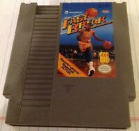 RARE NES MAGIC JOHNSON'S FAST BREAK NINTENDO