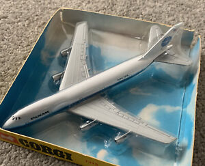 Vtg Collectible Corgi 1315 Pan-Am Boeing 747 Jumbo Aircraft Aeroplane Die Cast