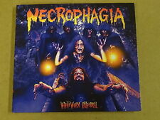 CD / NECROPHAGIA - WHITEWORM CATHEDRAL