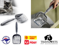 Large Steel Kitty Litter Scoop Tray Cleaner Super Strong Easy To Clean XL Jumbo