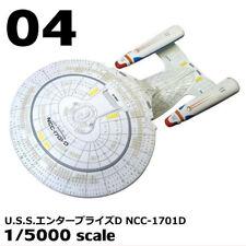 F-Toys Star Trek StarFleet Collection #04 U.S.S.ENTERPRISE NCC-1701-D