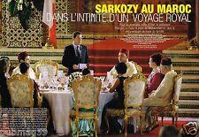 Coupure de Presse Clipping 2007 (6 pages) Nicolas Sarkozy au Maroc