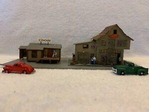 Fine Scale Miniatures HO Scale R.J. Skootz & Son Wood Kit Custom Assembled