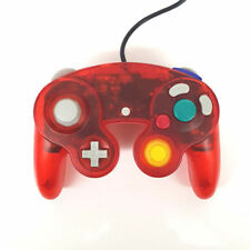 Wired Nintendo GameCube Controller - Transparent Red