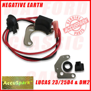 Land Rover Series 2 &3  AccuSpark Electronic Ignition Conversion For Lucas 25D