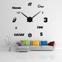 Quartz Wall Clocks Watch 3D DIY Acrylic Home Corridor Living Room Decoration New