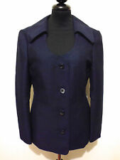 SARTORIA VINTAGE '70 Giacca Donna Lana Antica Old Woman Wool Jacket Sz.S - 42