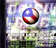 BORICUAS LIVE CONCERT - TITO Y HECTOR, MAICOL Y MANUEL, ALBERTO STYLEE - CD