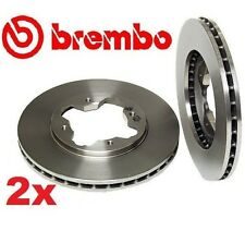 Set of 2 Brembo OE Replacement Front Disc Brake Rotors For Accord Acura CL