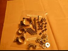 ARMSTRONG MT500 & HARLEY DAVIDSON MT350  COMPLETE STAINLESS EXHAUST FITTINGS KIT