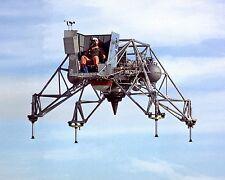 APOLLO LUNAR LANDING RESEARCH VEHICLE IN FLIGHT - 8X10 NASA PHOTO (EP-081)