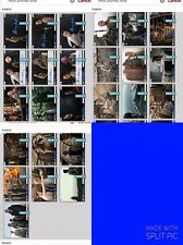 Topps Star Wars Trader Rey's Journey Blue Set w/Dual Signatures & Insert 25 Card