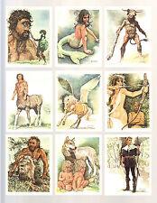 CIGARETTE CARDS. Tom Thumb.MYTHS & LEGENDS.(1981).(Set)