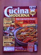 Rivista CUCINA MODERNA  N. 12 Dicembre 1999 Ricette con foto + POSTER