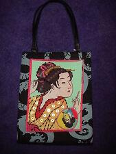 New Vintage PREZZO Geisha girl rare beaded embellished collectible handbag!