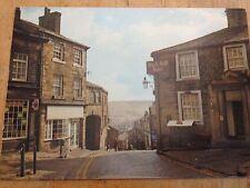 Old Postcard Of Haworth Main Street & The Black Bull