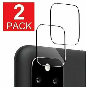 2-Pack Camera Lens Tempered Glass Film Protector For Google Pixel 5 4a