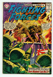 JERRY WEIST ESTATE: OUR FIGHTING FORCES #55 & 83 (VG) (DC 1960-64) NR