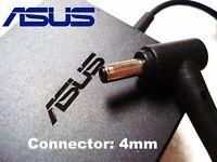 New OEM ASUS VivoBook X201E Q200E C300MA 33W 19V 4mm Charger EXA1206CH AD890326