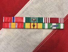 Mounted 6 Ribbon Bar Vietnam Service Bronze Star Good Conduct Army Commendation