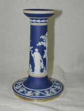 Antique Wedgwood Jasperware & Silver Candle Stick - England Only