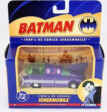 Batman 1950's DC Comics Jokermobile JMBV1 Die Cast Vehicle Corgi 1:43 Scale 2005