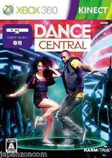Used Xbox 360 Dance Central MICROSOFT JAPAN JAPANESE JAPONAIS IMPORT