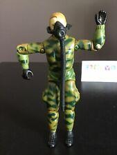 "Vtg G.I. Joe 1984 Ripcord Action Figure S3 V1 3-3/4"" & Mask w/ Hose"