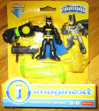 Imaginext DC Super Friends THUNDER PUNCH BATMAN FIGURE SET Justice League