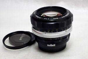 Nikon Nikkor-S.C Auto 55mm 1.2 Lens *Excellent*
