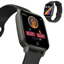 Bluetooth Fitness Temperature SmartWatch Heart Rate Blood Pressure Android IOS