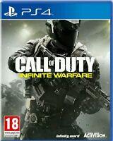 Call Of Duty: Infinite Warfare ps4 (Sony PlayStation 4, 2016) NEU OVP