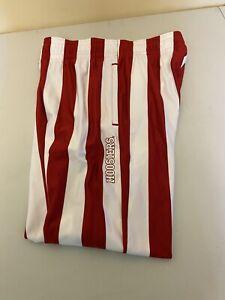 Indiana University Adidas IU men's Medium Candy striped Athletic pants Hoosiers