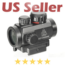 "Leapers Tactical 2.6"" ITA Red/Green CQB Micro Dot Sight with Integral QD Mount"